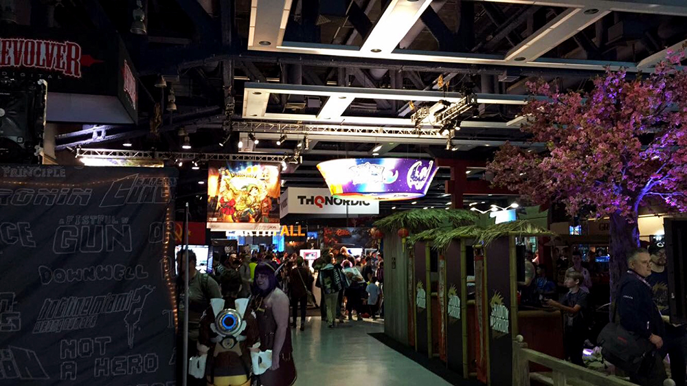 PAX West 2016 Expo hall