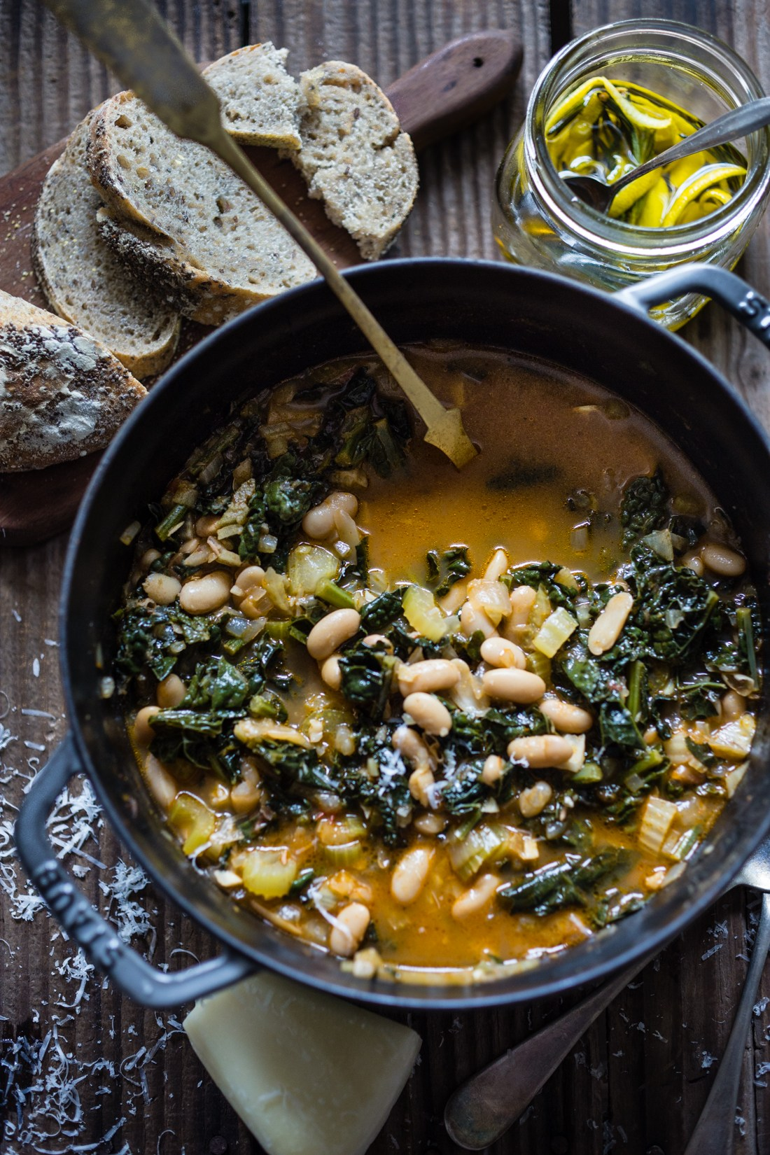 Ribollita - Tuscan White Bean Soup | Feasting at Home - 10 Comforting Fall Soups