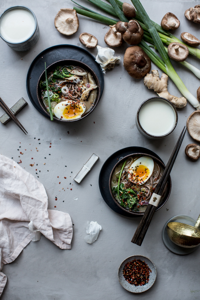 Spicy Soba Miso Soup | Local Milk - 10 Comforting Fall Soups