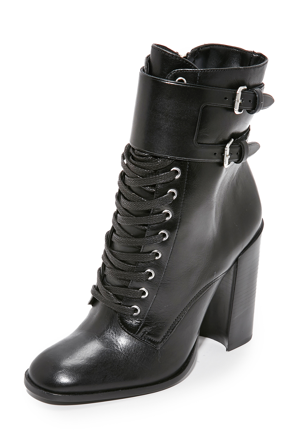 Schutz Makayla Leather Booties - Witchy Boots