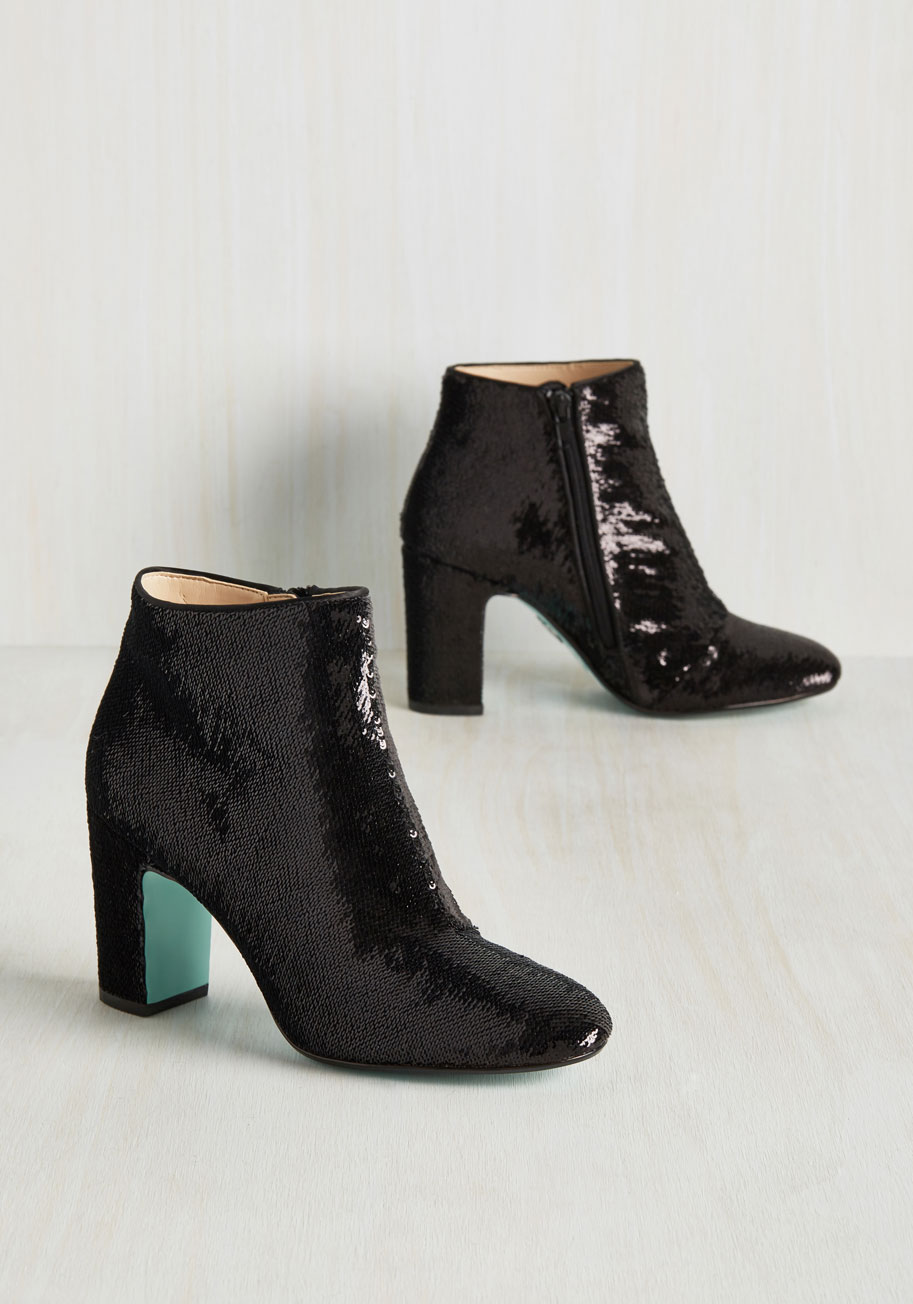 Fab for Your Health Bootie By Blue by Betsey Johnson from Modcloth - Spooky Style