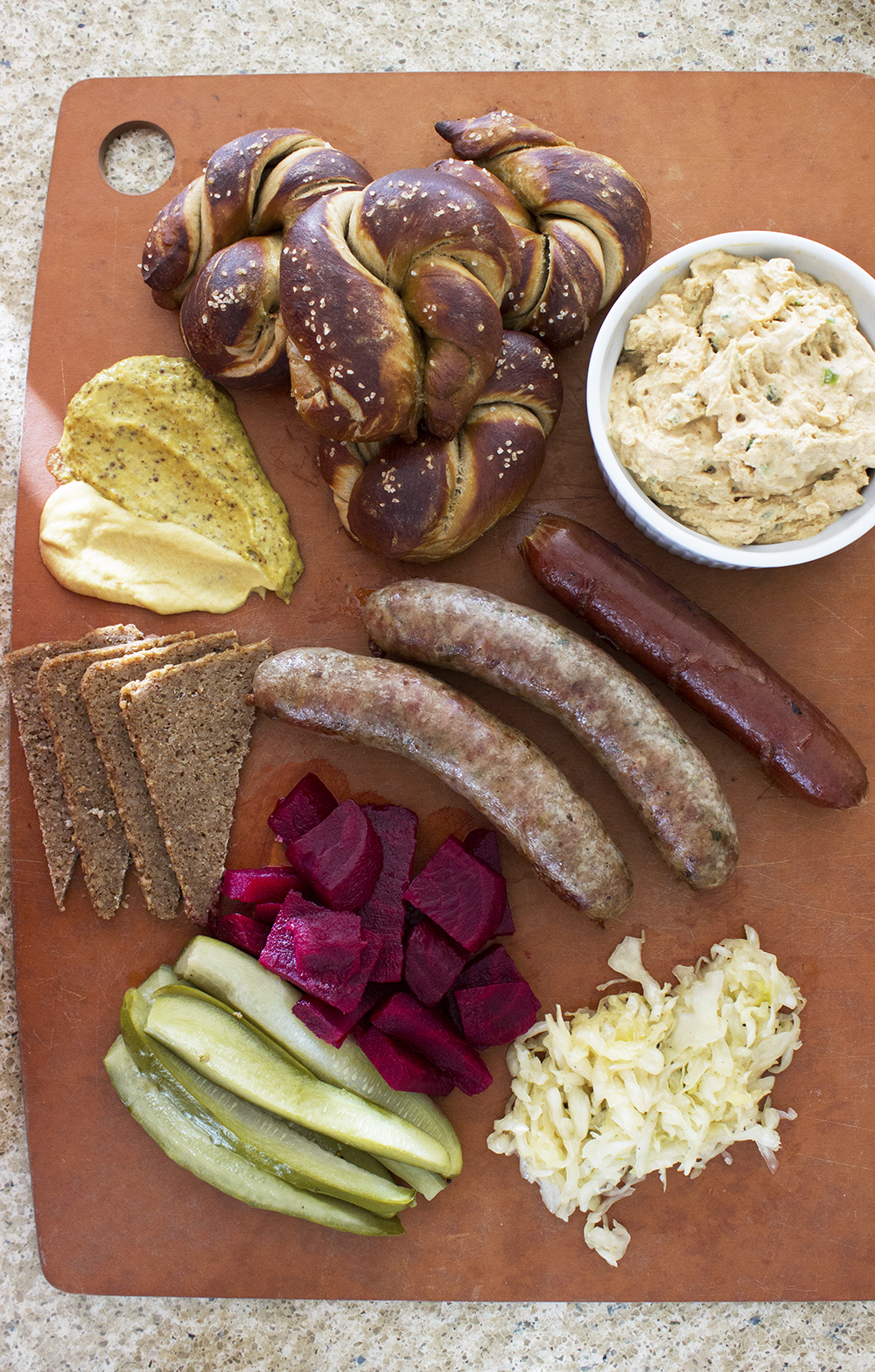German Snack Board | Style and Cheek