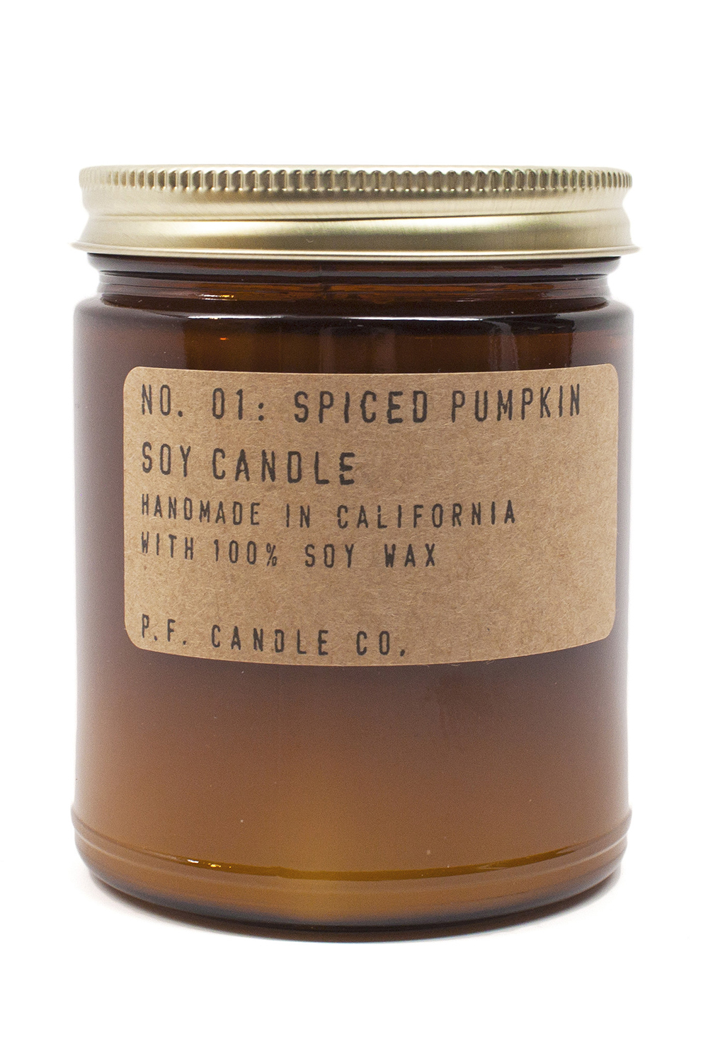 P.F. Candle Co. Spiced Pumpkin Candle from Moorea Seal - Spooktacular Halloween Home Decor