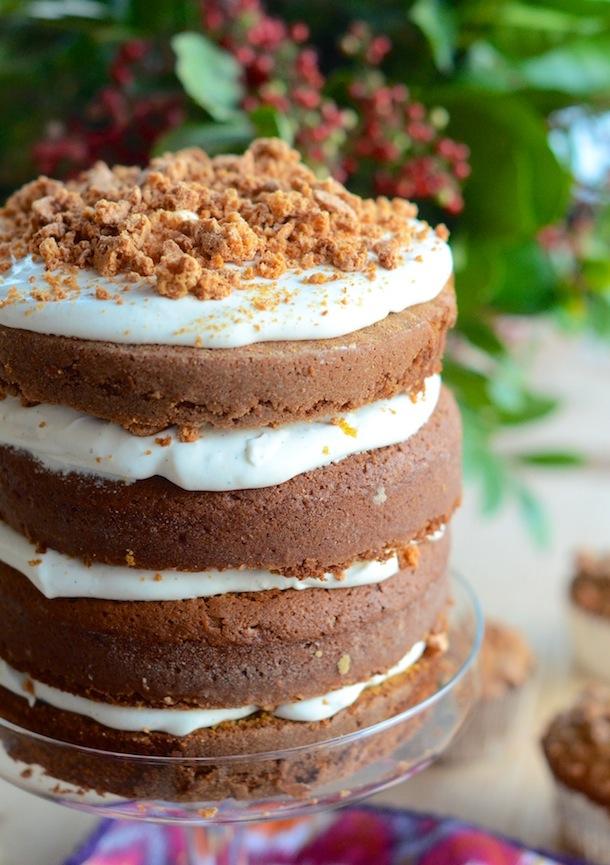 Pumpkin Tiramisu Cake   Camille Styles - 10 Sweet Pumpkin Recipes