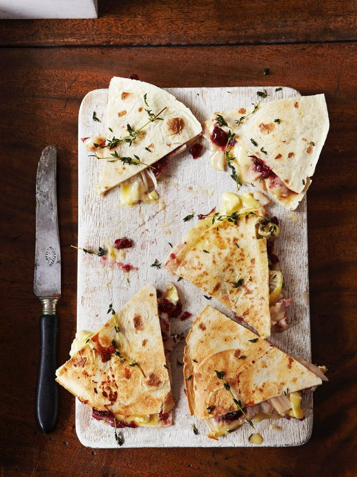 Boxing Day Quesadillas | Jamie Oliver - Pinterest Picks - 10 Yummy Thanksgiving Leftover Recipes