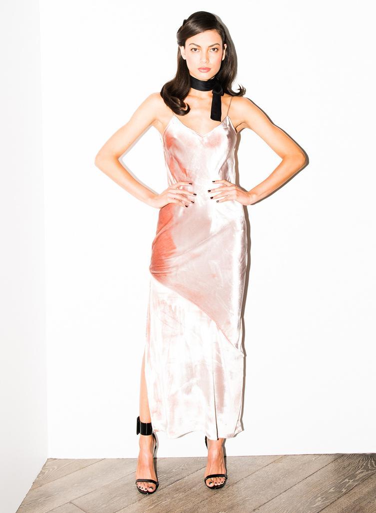Fleur du Mal Velvet Slip Dress - Fleur du Mal lingerie