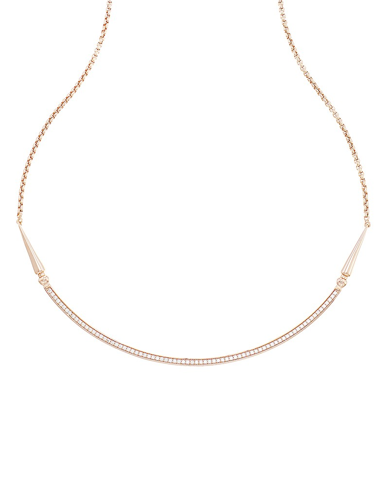 Kendra Scott Scottie Choker Necklace In Rose Gold - Kendra Scott Jewelry Wishlist