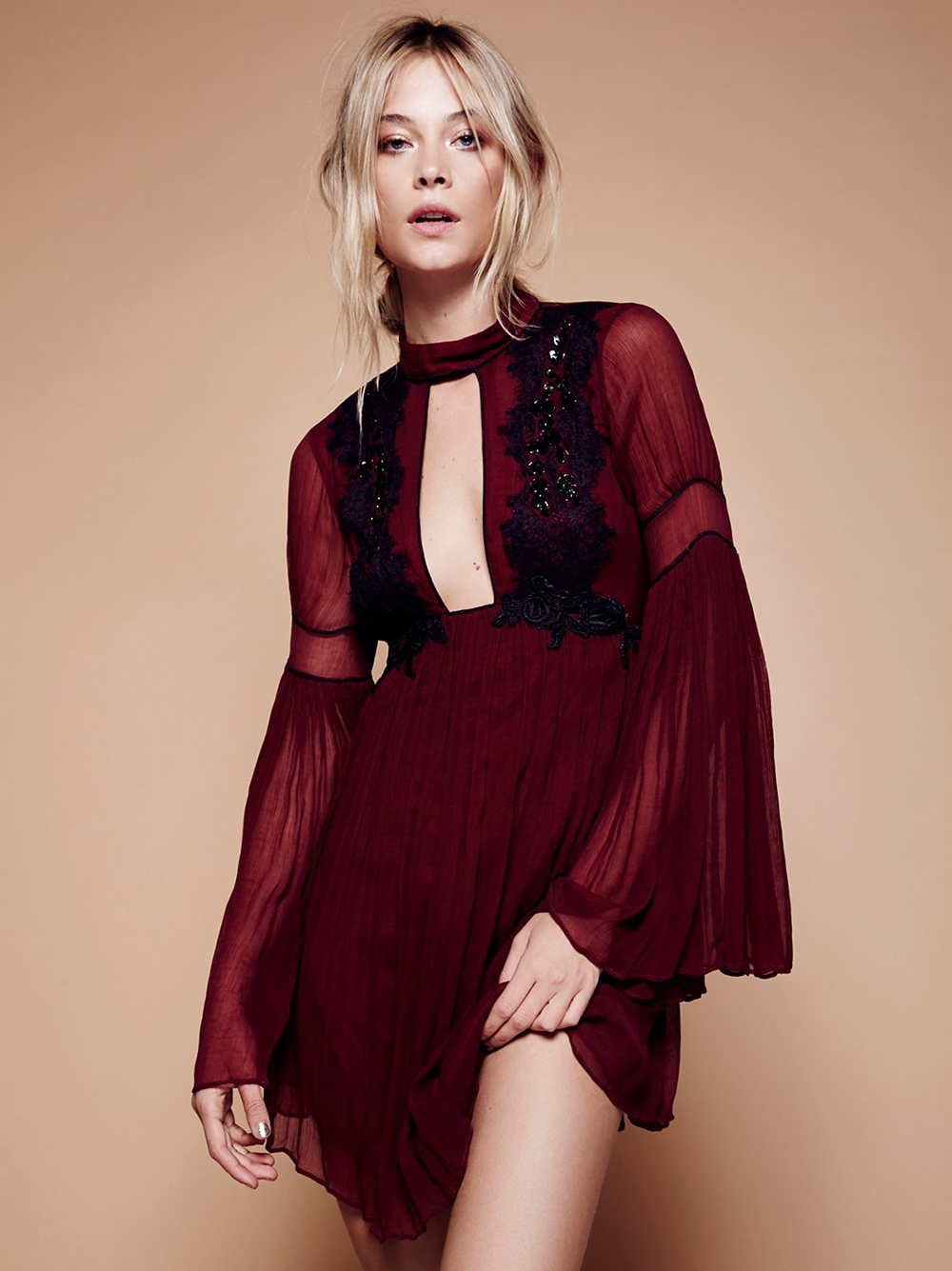 Free People Madly Deeply Mini Dress - Unwrap These 10 Holiday Dresses