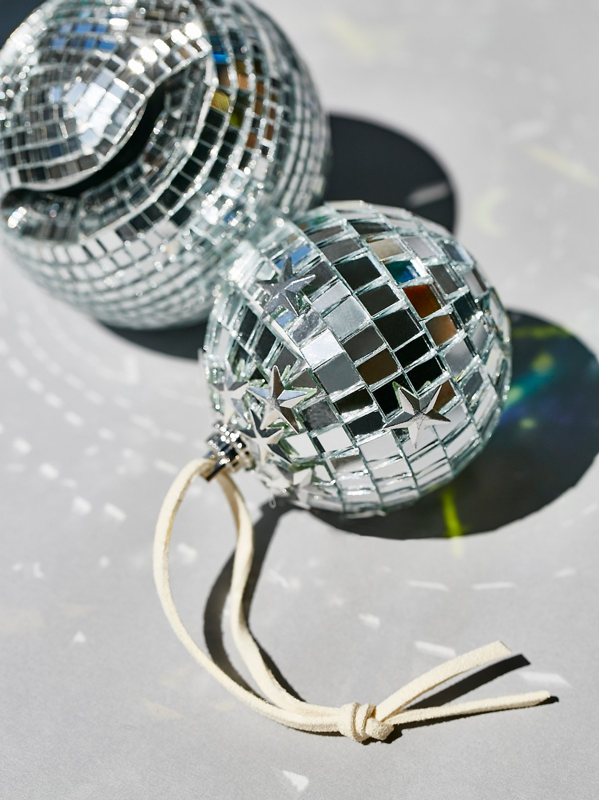 Free People Mini Disco Ball Ornament - Deck Your Halls Christmas Ornaments and Home Decor