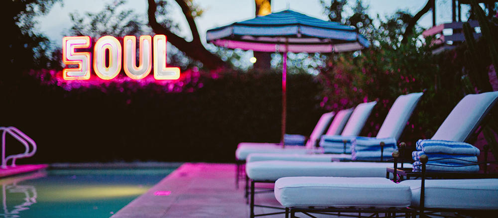 Hotel Saint Cecilia Austin, TX Pool Bungalow - 2016 A Visual Survey with Style and Cheek