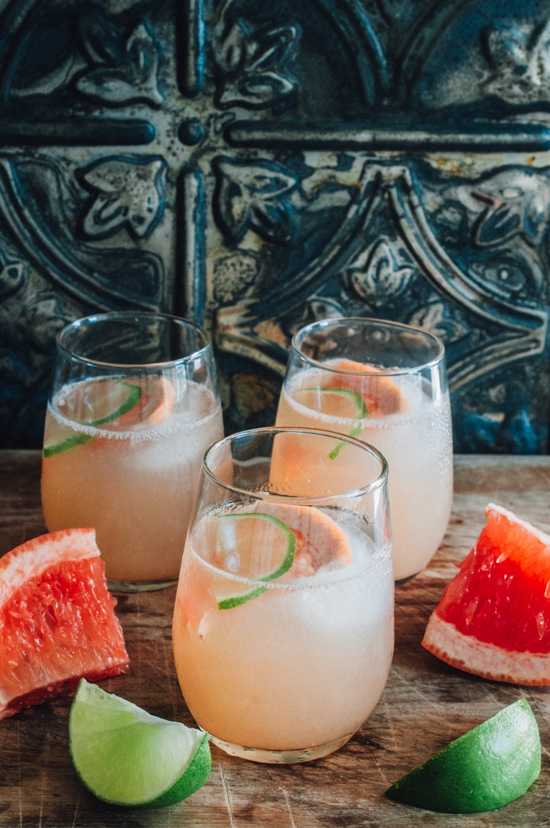 Paloma Cocktail & Mocktail (Paleo & AIP) | Sweet Treats - Pinterest Picks - 8 Tasty Holiday Mocktails