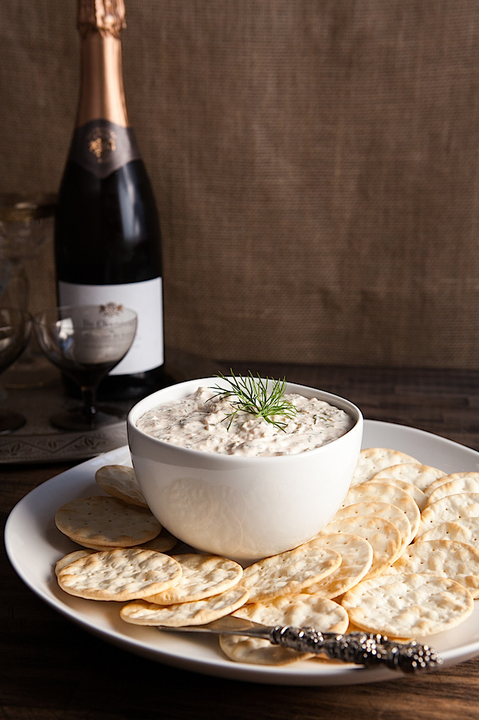 Smoked Salmon Dip | Chez Us - Pinterest Picks - 8 Indulgent Seafood Recipes for Christmas Eve
