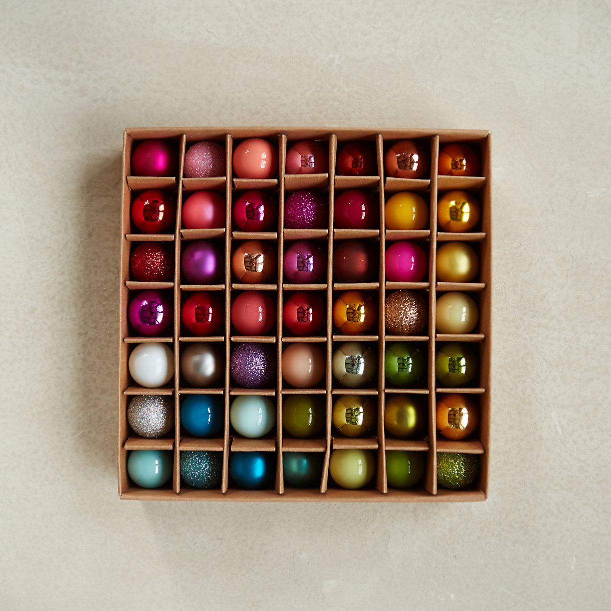 Terrain Miniature Bulb Set, 49 - Deck Your Halls Christmas Ornaments and Home Decor
