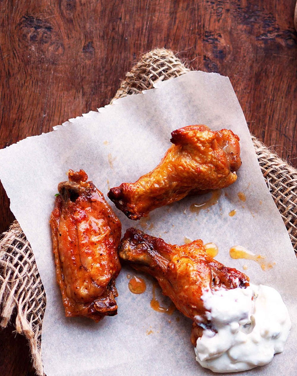 Baked Buffalo Wings | Foodess - 10 Super Bowl Recipes to Stave Off Monday's Hangover