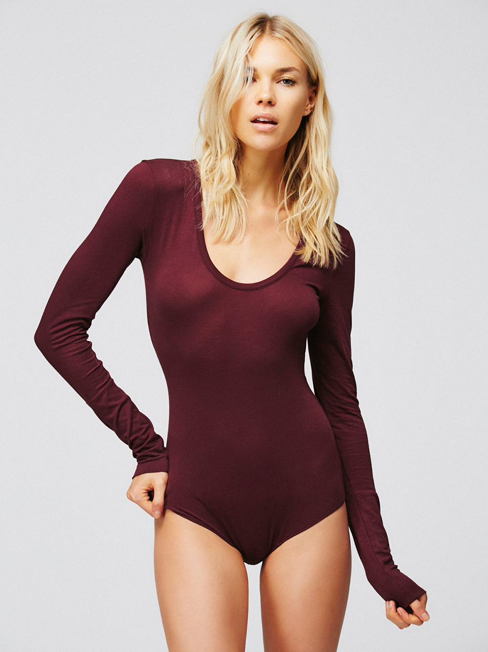 Free People Easy Peasy Tee Bodysuit - The Best Bodysuits