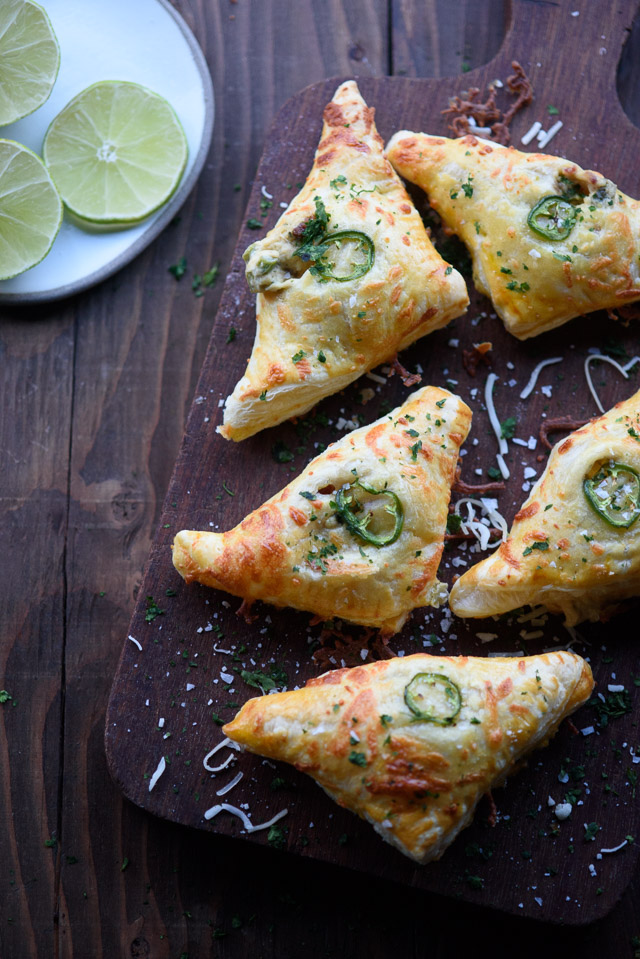 Jalapeño Popper Turnovers | The Adventure Bite - 10 Super Bowl Recipes to Stave Off Monday's Hangover