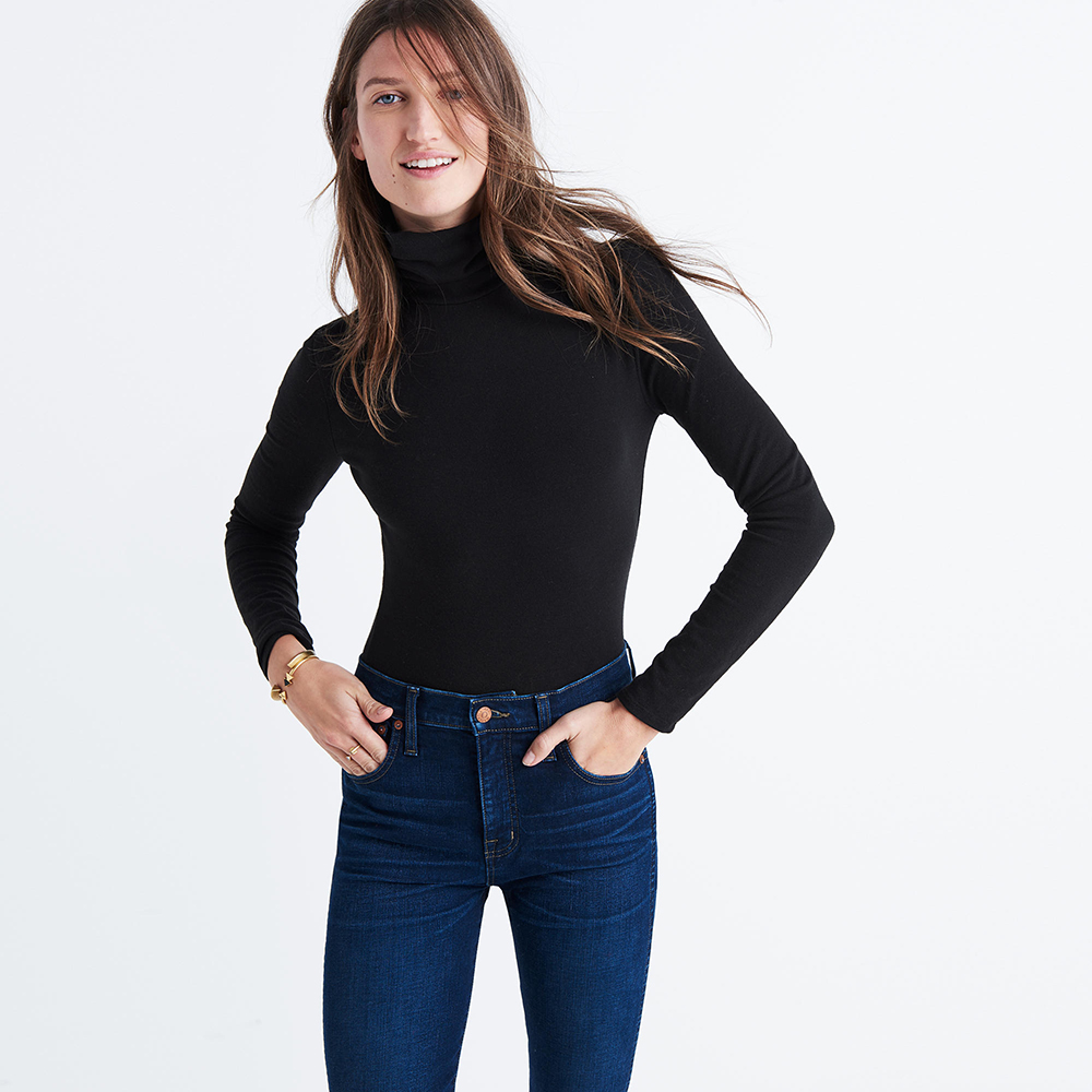 Madewell Instrumental Turtleneck Bodysuit - The Best Bodysuits