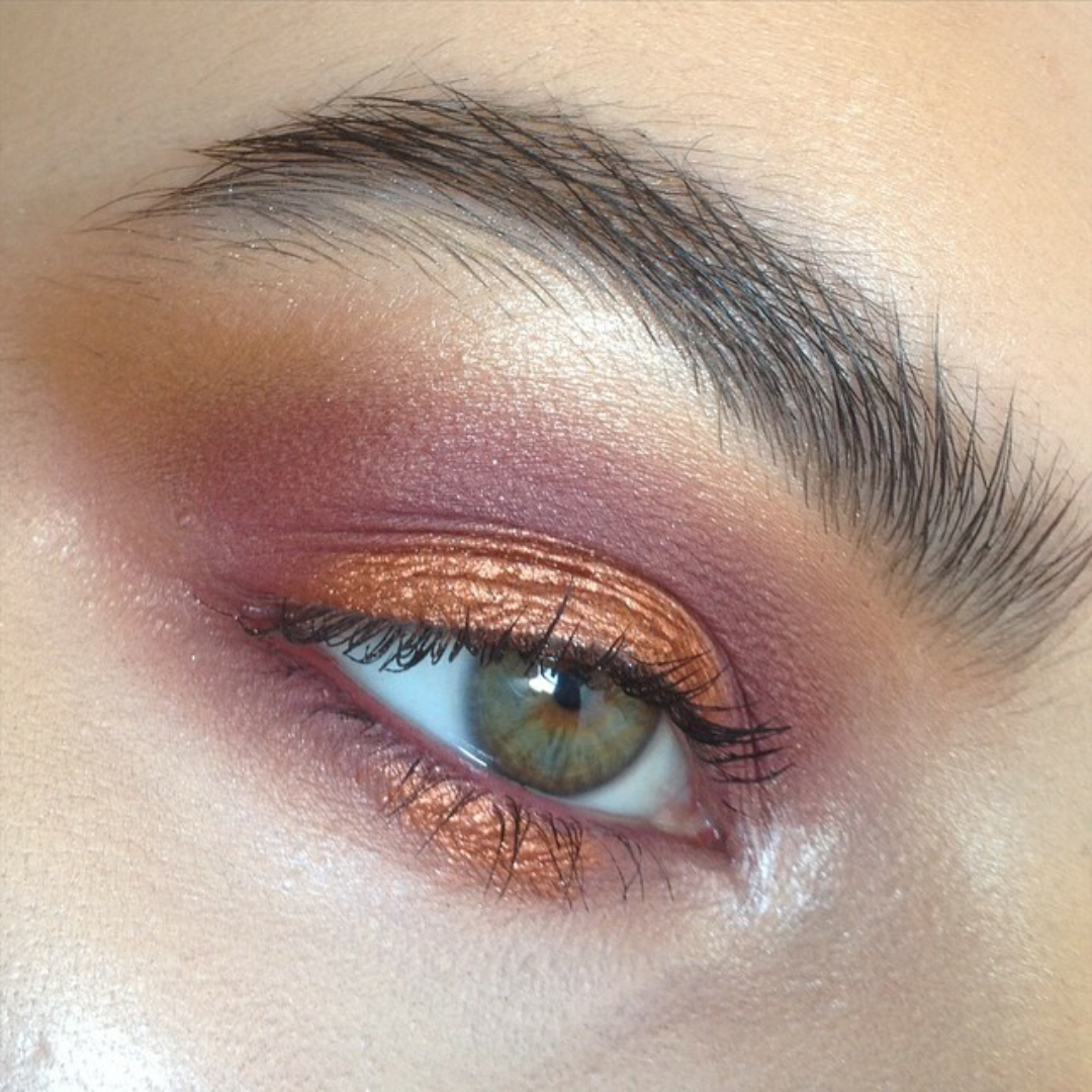 Makeup look - Rose inspiration