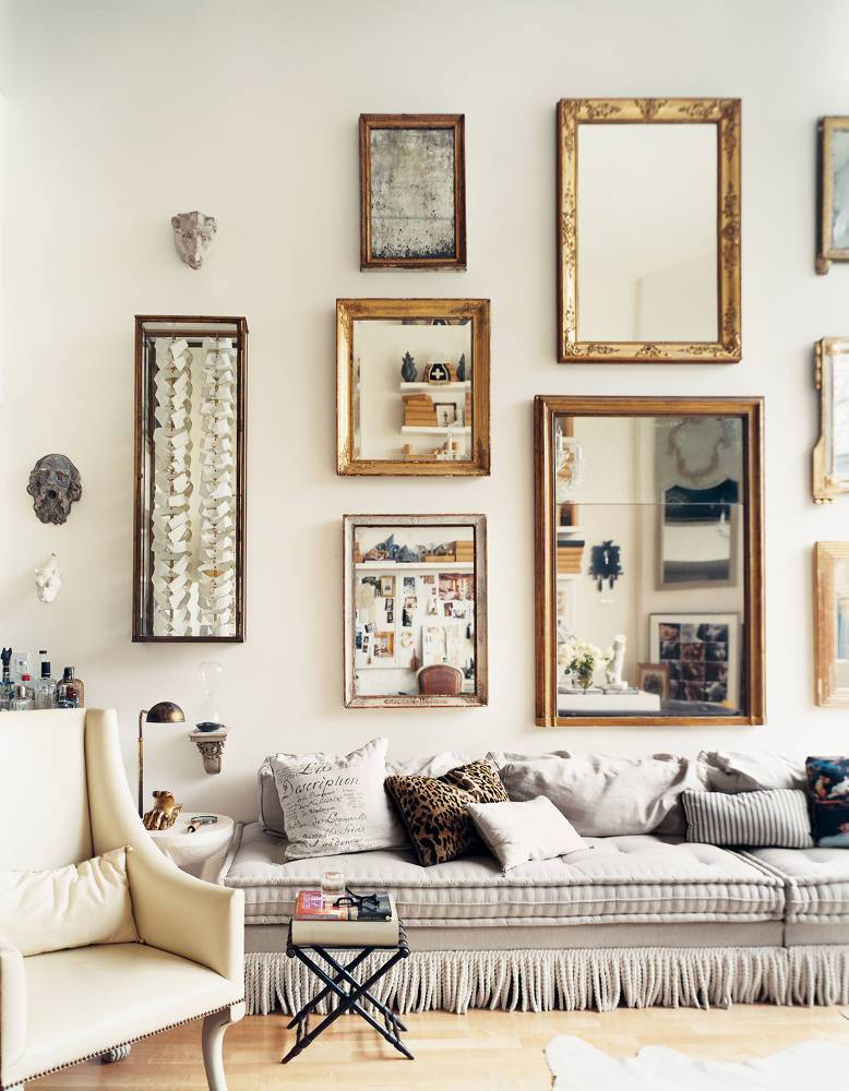 Master of Illusion   Domino - Pinterest Picks - Dreamy Gallery Walls - Gallery Wall Inspiration