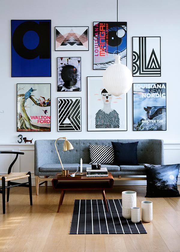Sofa Fantasy | Door Sixteen - Pinterest Picks - Dreamy Gallery Walls - Gallery Wall Inspiration