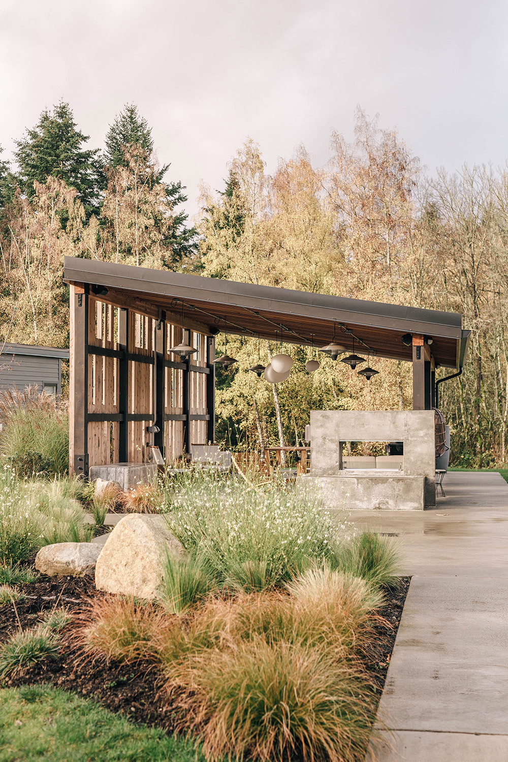 The Lodges on Vashon The Pavilion photo by Danny Owens - Vashon Island Travel Guide | Style and Cheek