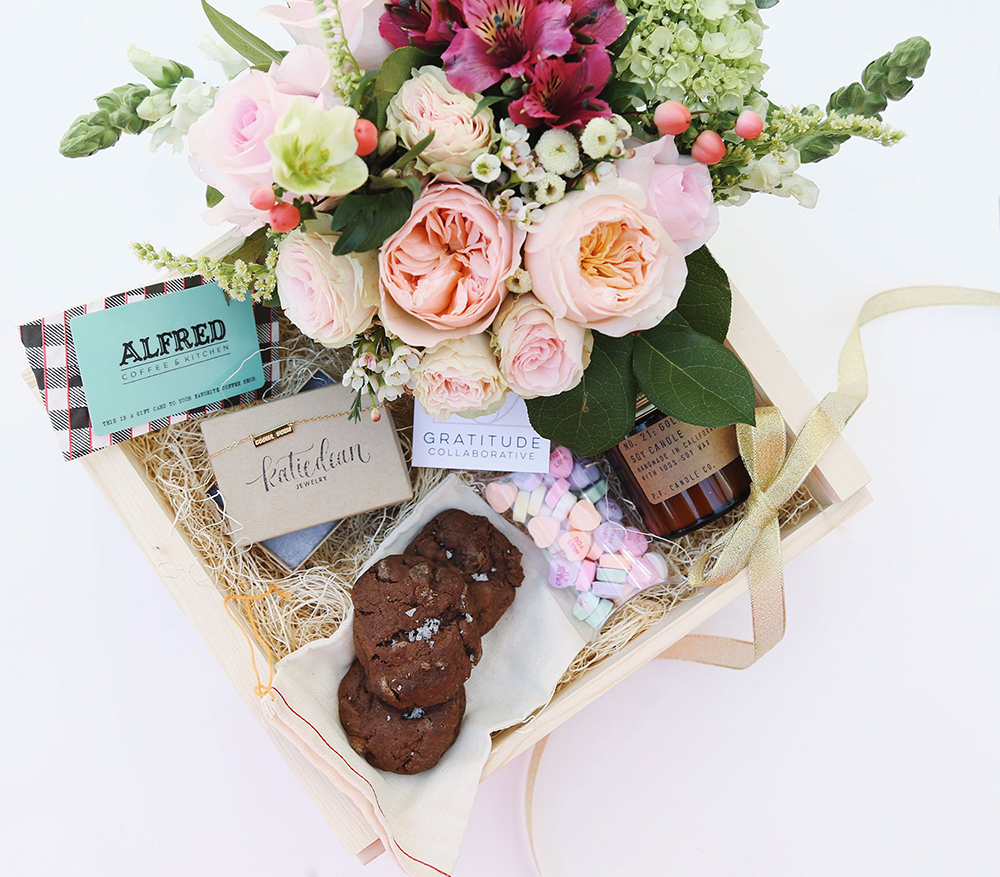 A Last Minute Valentine - The Bestie Box | Rue Daily - Pinterest Picks - Galentine's Day Ideas
