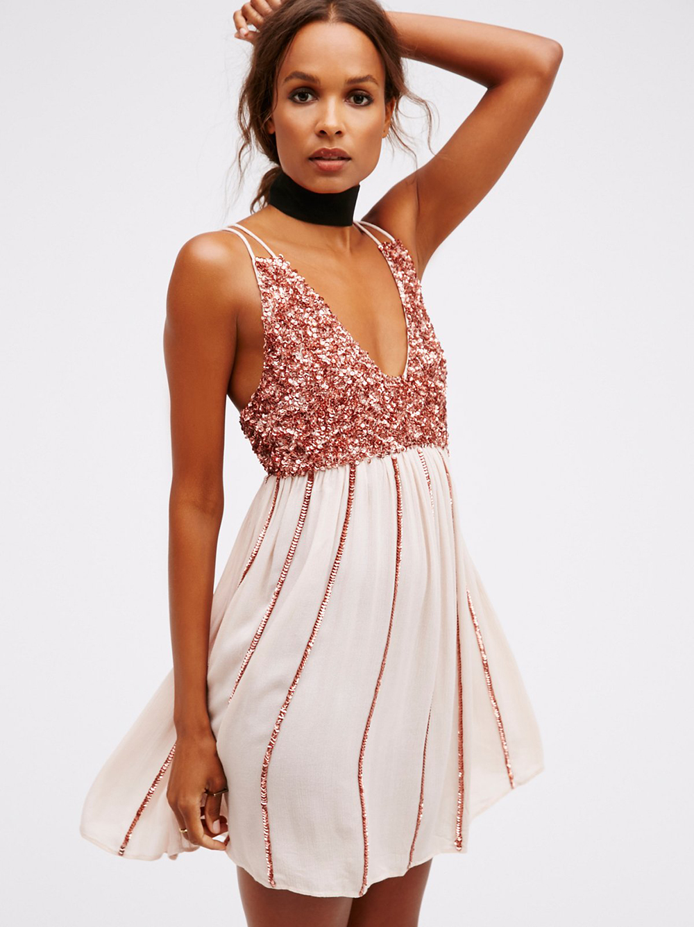 Free People Glitter Girl Slip | Valentine's Day Gift Guide