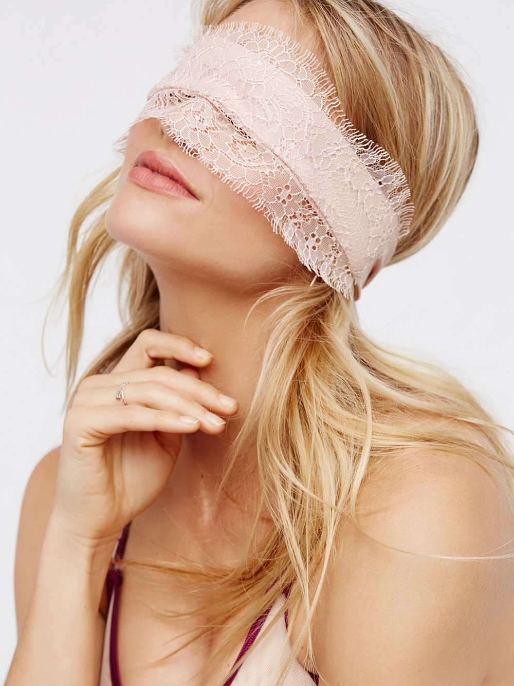 Free People Lace Blindfold | Valentine's Day Gift Guide