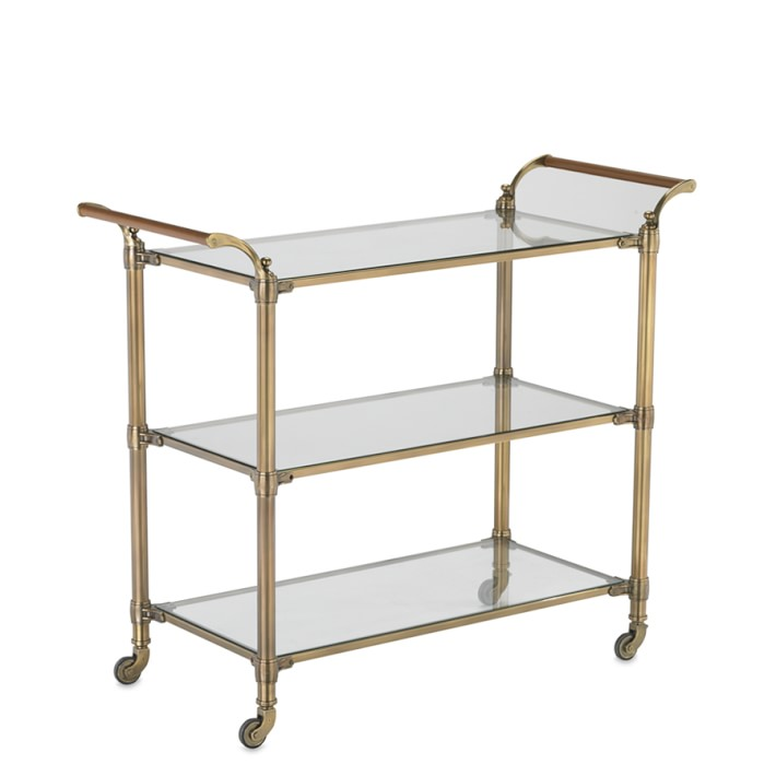 Williams Sonoma Beckett Bar Cart - 10 Perfect Bar Carts for Entertaining
