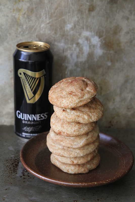 Guinness Snickerdoodles | Heather Christo - Pinterest Picks - 8 Sweet Guinness Recipes for St. Patricks Day