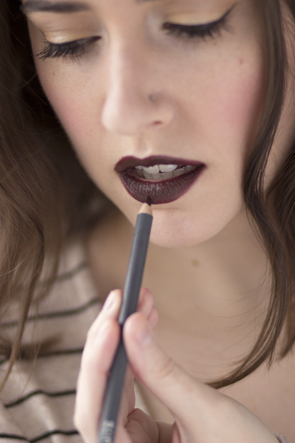 The Lip Pencil by BITE Beauty in 044 and Whiskey lipstick x Influenster - The Lip Pencil by BITE Beauty review