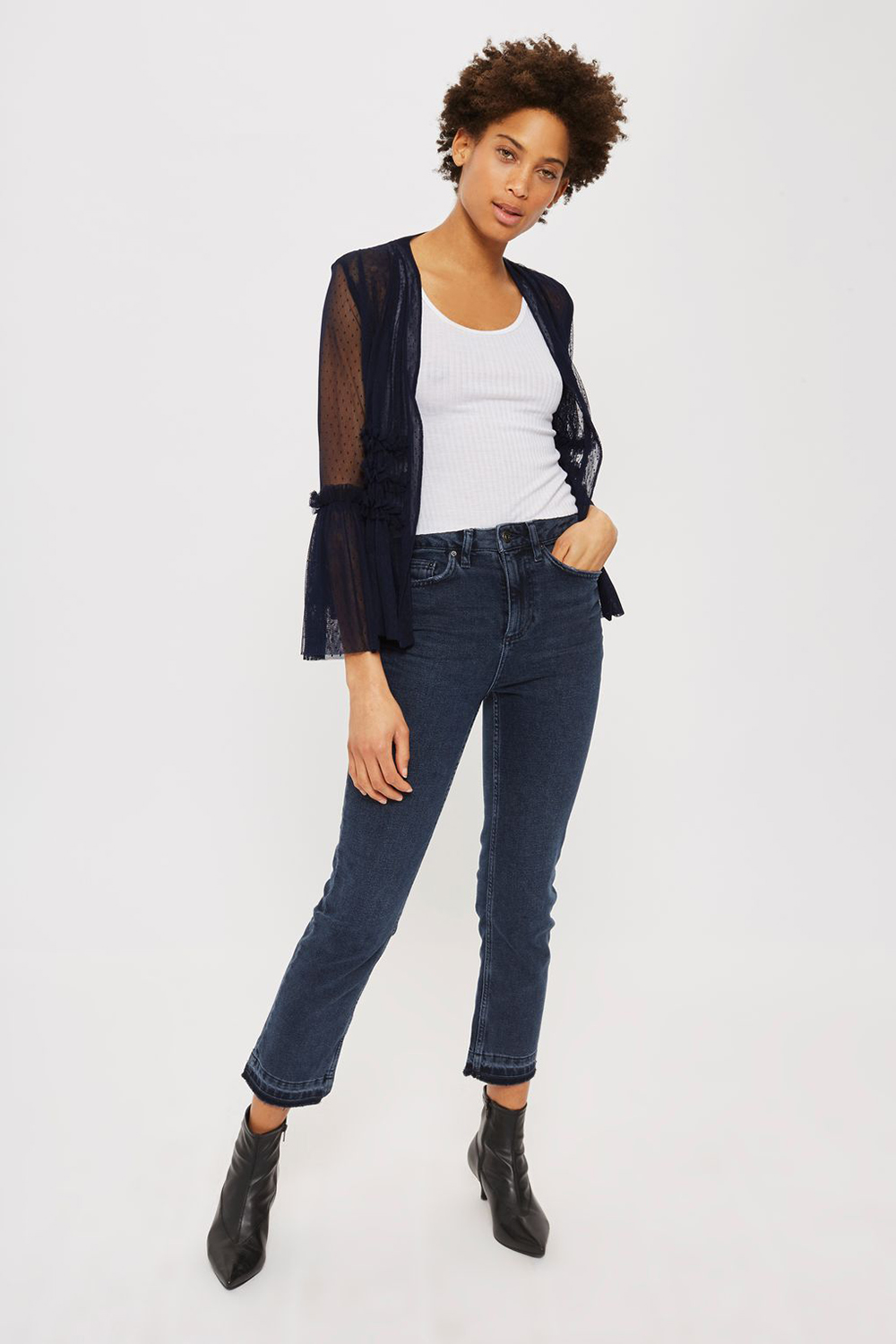 Topshop Dobby Tulle Jacket - Wardrobe Refresh: Topshop for Spring