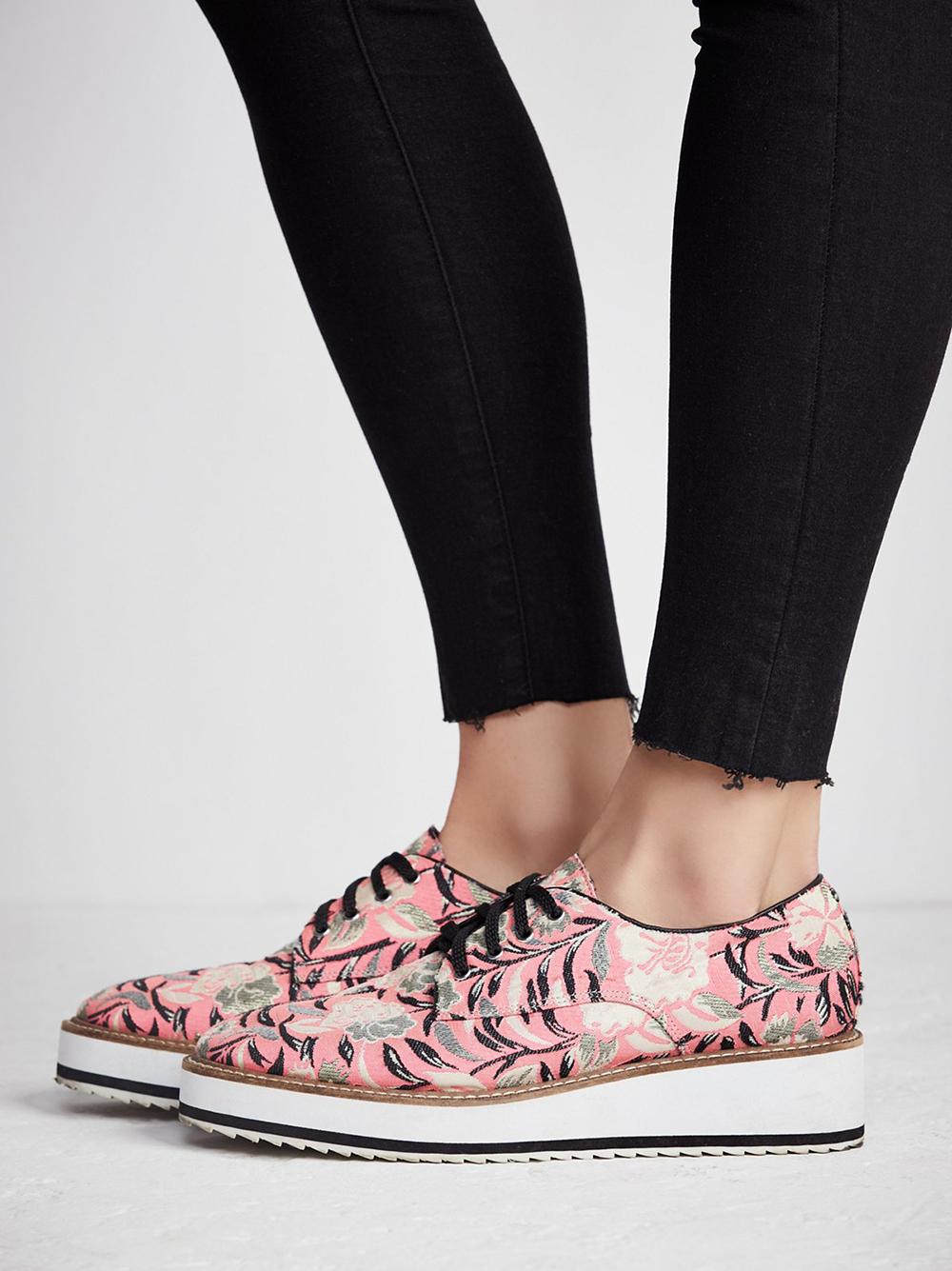 Shellys London x Free People Delfina Platform Loafer - Statement shoes