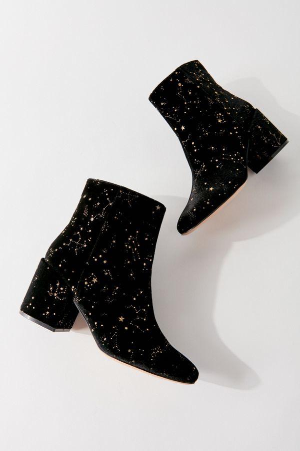 UO Margot Velvet Zodiac Boot - Spooky Style