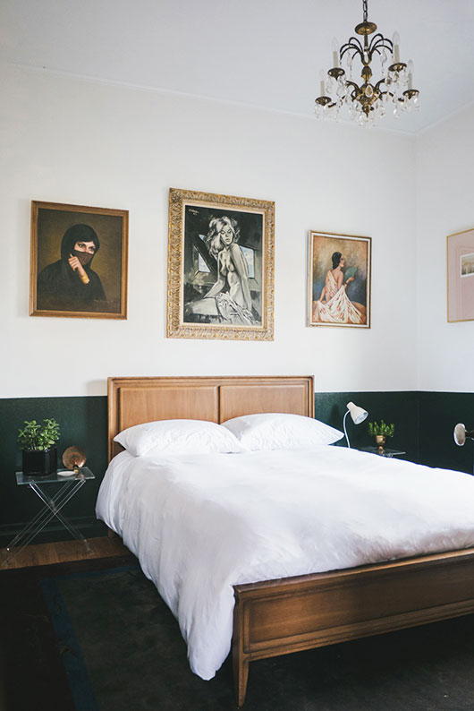 Checking In With Homestead Seattle | SF Girl | Pinterest Picks - Green Bedroom Inspiration