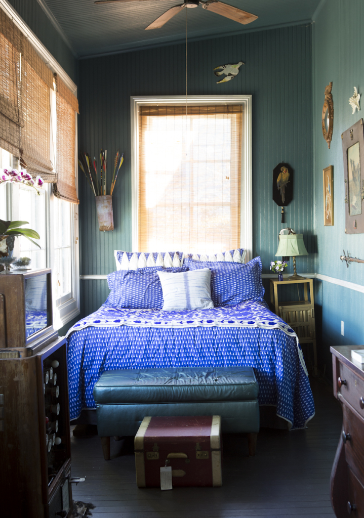 Miranda's Magical New Orleans House | Camille Styles | Pinterest Picks - Green Bedroom Inspiration