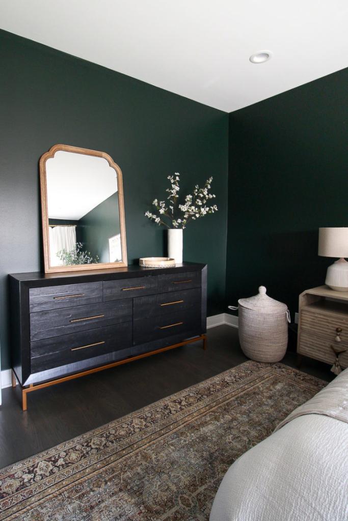 Reader OMG! – My Brother's City Condo | The DIY Playbook | Pinterest Picks - Green Bedroom Inspiration
