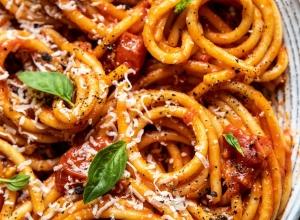 Bucatini Amatriciana | Half Baked Harvest